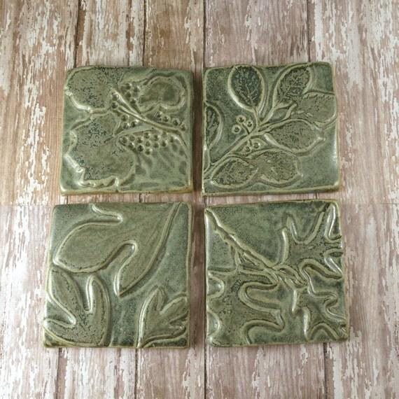 Kitchen Backsplash With Glass Tile Accents: Ceramic Tile Wall Art Backsplash Accent Kitchen Tile