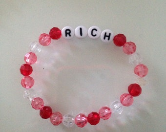 Money Word Bracelets