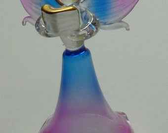 Blown Glass Angels with gold trim