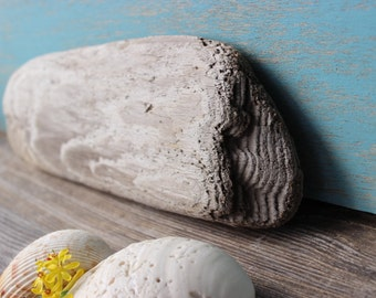 DIY Driftwood Plank , Make Your Own Vintage Beach Sign , Surf Tumbled Beach House Decoration