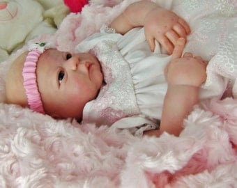 Beautiful Lifelike Reborn Baby Doll  Ready for Easter