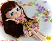 Valentine Heart Bubble Dress for Kenner Neo-Blythe or Custom Blythe Doll
