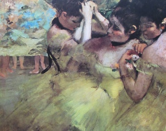 Degas reproduction Etsy