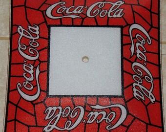 COCA COLA Glass Ceiling Light Cover 14 x 14