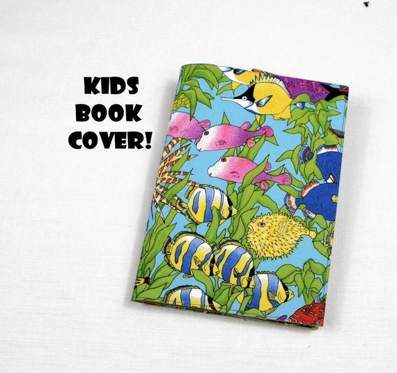 Items similar to Fish Paperback Book Cover for KIDS - Cute ...