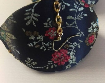 Black Chinese purse Earrings