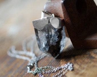 Dollybird Black Phantom Crystal Necklace