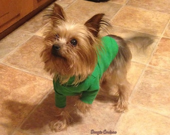 Dog Turtleneck Shirt Size XXXS through Medium by Doogie Couture