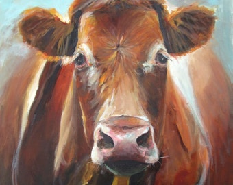 Fiona- Original Painting by Cari Humphry 24x30