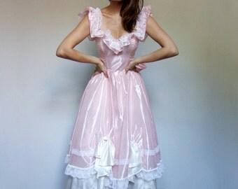Pastel pink dress | Etsy