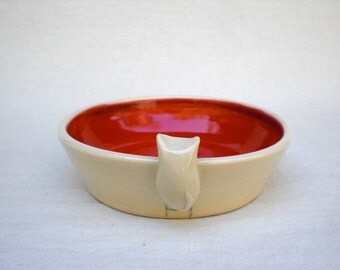 Kitty Dish for your Kitty - Red