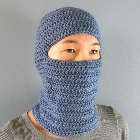 Classic Balaclava 4 Sizes Pdf Crochet Pattern Instant Download