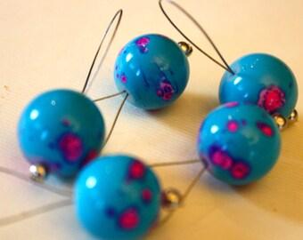 Sweet Stitch Markers, set of 5