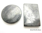 Shungite Protection Disc, Rectangle, Adhesive Back, ONE, Cell Phone Protection,  Crystal Healing, Russia,  Protection, Carbon, Rock Hound