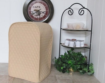 Tan Food Processor Cover Made To Order
