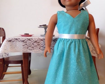 18 Inch Doll Clothes / Doll Dress / Dress / Doll Clothes / Doll Clothing / Doll Accessories / Fits American Girl Doll - 1069