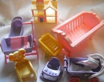 Vintage,never used doll house set