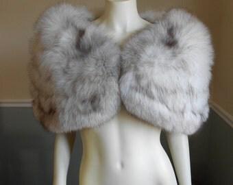 Fox Fur Stole / Wedding / Bridal