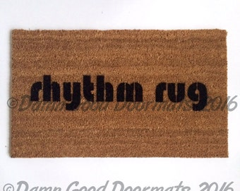 Rhythm Rug doormat tribe called quest outdoor welcome housewarming fun rug