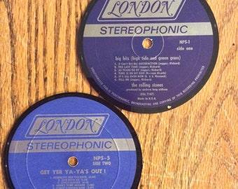 Rolling Stones Coaster Set
