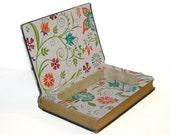 Hollow Book Safe The International Education Series European Schools Cloth Bound vintage Secret Compartment Security hiding place