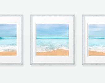 Wave Photography, Surf Photography, Ocean Photography, Seascape Photography, Ocean Triptych, Wave Photo, California, Beach, Surf, Triptych