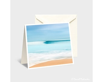 Wave Note Card, Wave Greeting Card, Surf Note Card, Surf Greeting Card, California Surf Card, Abstract Greeting Card, California Surf Photo