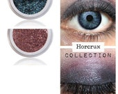Eyeshadow Kit Palette | HORCRUX | Mix - Match - Layer | Natural Mineral Eye Colors | Natural Eco Pure Organic Better Than MAC Cosmetics