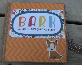 BARK Dog Scrapbook