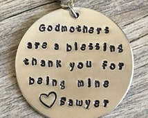 Gift for godmother, gift for godparents, gift for god mother, keychain gift for godparents, gift, godmothers, god parent, are a blessing