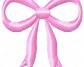 Bow Machine Embroidery Mini Design