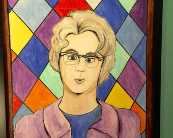 SNL Church Lady - Dana Carvey Fan Art Painting