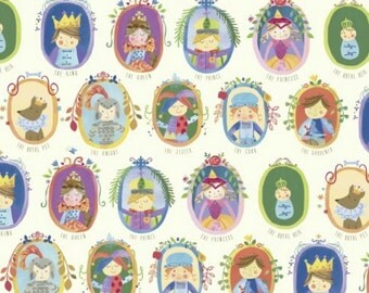 SALE - Windham Fabrics - Royal Court Portraits in Multi