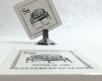 4  Tile Coasters - Serving up Style