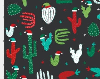 Christmas Gift Wrap - christmas wrapping paper - cactus wrapping paper - limited edition