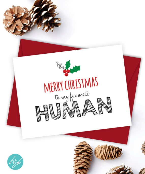 boyfriend card funny christmas card christmasflairandpaper