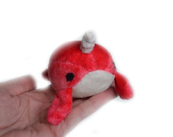 Baby Narwhal Plush Toy
