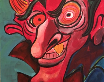 When the Devil Looks At You THAT Way (2016) by Mark Redfield