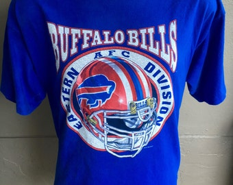 Buffalo Bills NFL 1990s vintage tee shirt size extra large
