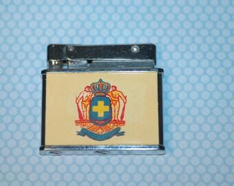 1950s Rogers Heraldic Coat of Arms Lighter