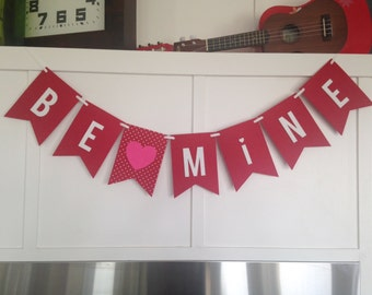 Love Valentine Valentine's Day Felt Banner