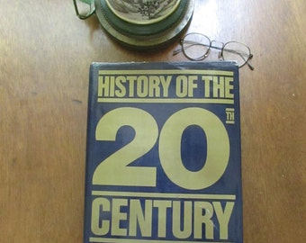 History of the 20th Century – Introduction by Alan Bullock - Derbi Books – Phoebus Publishing Company – Vintage Hardcover History Book