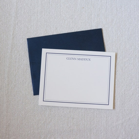 """Personalized Stationery, Personalized Gift, Custom Gift, """"The Edisto"""" Stationery Set by Dodeline Design"""