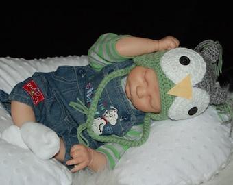 Kase Asleep sculpt by Bountiful Baby Realborn kit