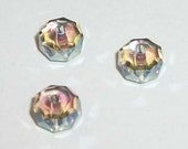 New - 6mm Swarovski crystal beads faceted Rondelle SPACER style 5045 Crystal elements Swarovski crystal passions - Paradise Shine - 6 pieces