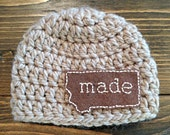Montana Made Beanie - Many Sizes Available- Made in Montana