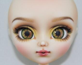 Pullip eye chips OOAK REALISTIC custom Pullip, Dal, Taeyang eye chips set H3, by Ana Karina. UV laminated