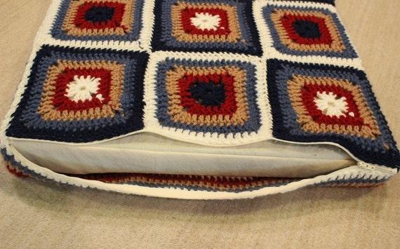 Crochet Pattern for Cushion, Crocheted Pillow Pattern, Meditation Cushion Pat...