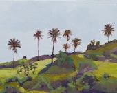 Hana - Palm Trees - Tropical - Maui Landscape - Original Painting - Adam Serra