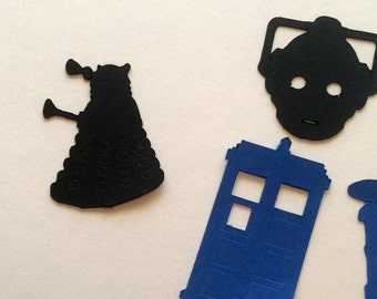 Doctor Who Themed Confetti